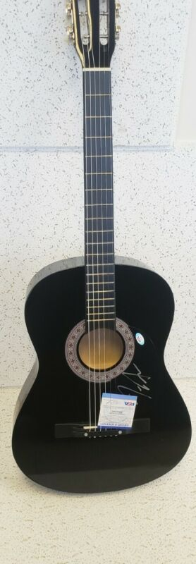 Country Superstar Jimmie Allen Signed autographed Acoustic Guitar PSA holo&card