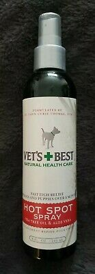 Vet's Best~ Hot Spot Spray for Dogs 8 oz FAST Itch Relief Natural Formula