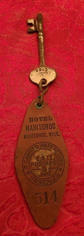 Hotel Manitowoc Manitowoc WI Room Key and Fob