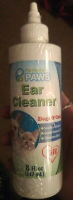 Ear Cleaner for Dogs and Cats with Aloe Vera, Tea Tree Oil & Vitamin E - 8oz ECO