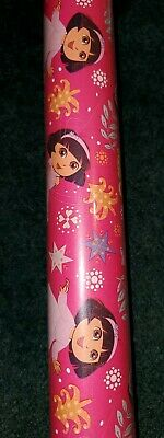 Dora the Explorer Christmas Wrapping Paper 40sq  ()