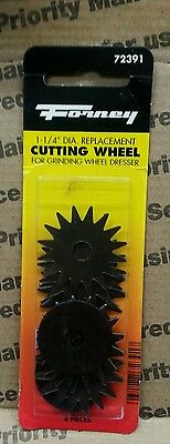 Forney 1 14 In Replacement Cutting Wheel For Grinding Wheel Dresser Mfg 72391
