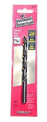 Vermont American Cobalt Drill Bit - Vermont American 12671 Cobalt Drill Bit 21/64