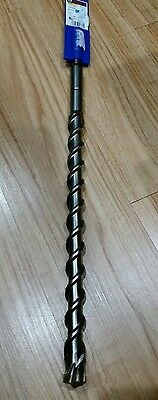 1 X 21 Bosch Wild Bore Splined Rotary Hammer Carbide Masonry Bit New