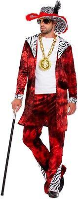 ngster Herren Kostüm Fasching Karneval NEU (Big Daddy Kostüm)