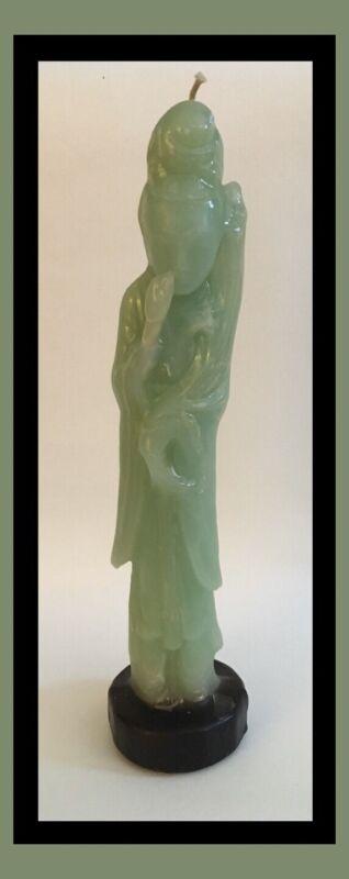 Jade Green Candle Japanese Geisha Girl - Antonio Ajello For Bergdorf Goodman