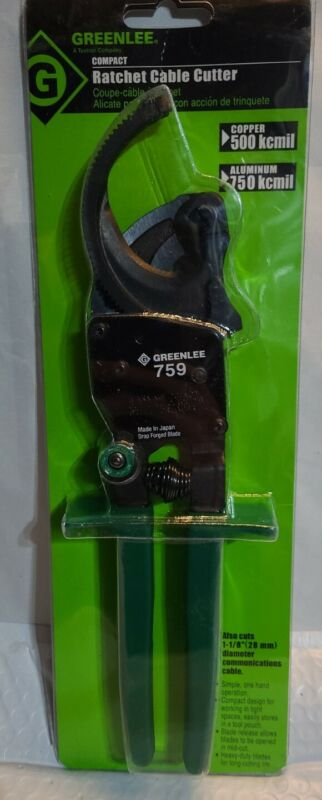 GREENLEE 759 CABLE RATCHET CUTTER