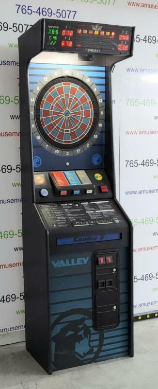 Valley 8 by Cougar - Commercial Coin Operated Dart Board
