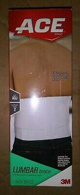 ACE LUMBAR Brace Adjustable Size Support Level 2