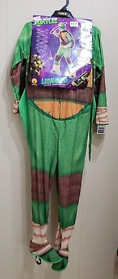 Nickelodeon Teenage Mutant NINJA TURTLE  Kids Halloween Costume Sz S M Leonardo