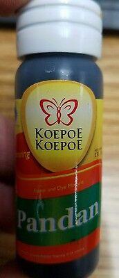Pandan Paste Concentrated, Pandanus Flavoring, Screwpine 1 oz. Butterfly Koepoe