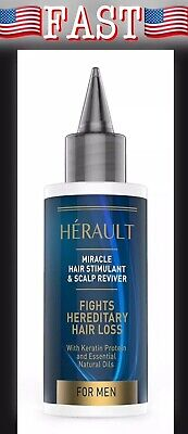 Herault Hair Stimulant and Scalp Reviver: Best Hair Loss Treatment for Men, (Best Hair Loss For Men)
