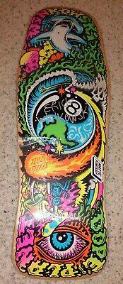 Autographed Santa Cruz Erick Winkowski Dope Planet Skateboard Deck