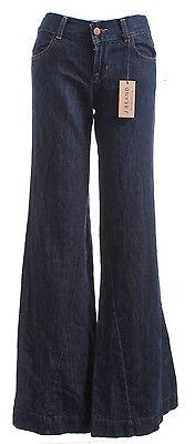 J BRAND NWT $135 Blue Kat Four Pocket Wide Leg Jeans  ()