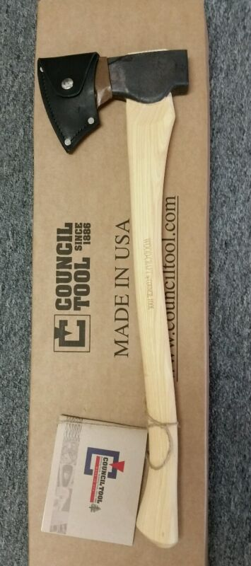 """Council Tool Woodcraft Pack Axe w/ 24"""" Handle 