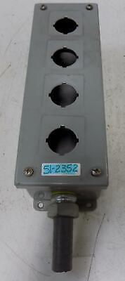 Weigmann Nema 12 4 Pushbutton Control Panel Enclosure Pb4