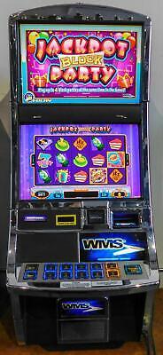 Jackpot Casino Parties (WMS BB2 (Bluebird 2) VIDEO SLOT MACHINE: JACKPOT BLOCK)