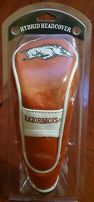 - NCAA Arkansas Razorbacks Hybrid Golf Headcover Stretch Fit & secures on shaft