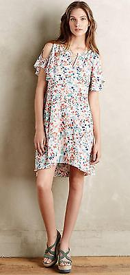 New Anthropologie Maeve Fluttered Watercolor Dress  Size S M L Xl