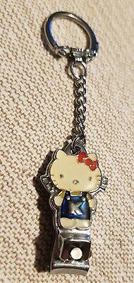 Nagelknipser Hello Kitty WIE NEU Schlüsselanhänger klein Sanrio Vintage