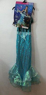 Mermaid Beauty Costume Haloween Girls Size MED. 88-12 New  - Haloween Costume