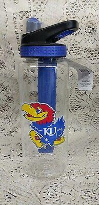 Kansas Jayhawks liscensed cool gear water bottle 32oz. - Kansas Jayhawks Gear