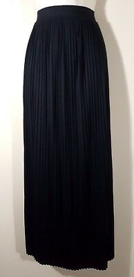 """NEW Mossimo Size Medium PLEATED Maxi SKIRT 39"""" Long Soft Rayon Mix Tall Stretch"""