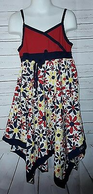 Sweet Home Rose for Dollie & Me Girls Dress Size 6X Floral  G/A-14](Sweet Dresses For Girls)