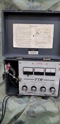 Biddle Megger Ttr 550005 Transformer Turn Ratiometer Tester -