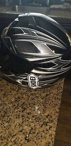 Shoei Qwest Diverge Street Motorcycle Helmet TC-6 White Grey Black Medium
