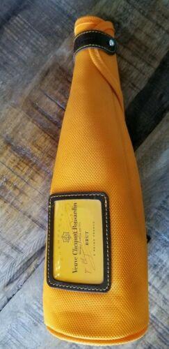 Veuve Clicquot Orange Champagne Bottle Cooler Jacket Carryin