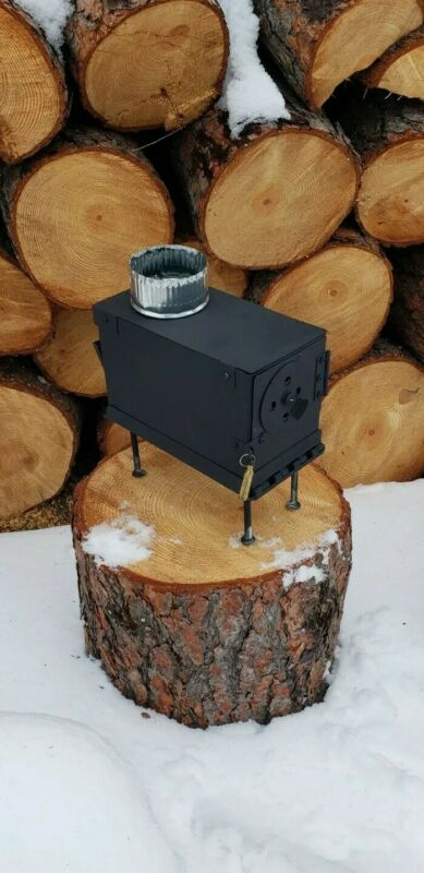 Ammo Can Stove .50 cal Wood Burning