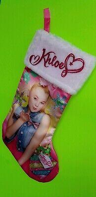 JoJo Siwa Christmas Stocking, personalized stocking, YOUR NAME ON IT