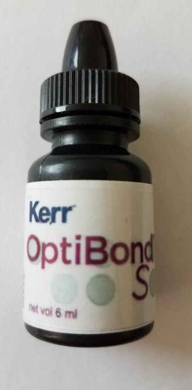 Kerr OptiBond S Total Etch Dental Adhesive bonding agent 6ml FREE SHIPPING