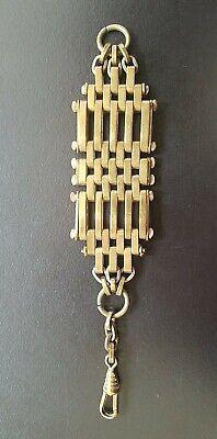 Vintage Antique Pocket Watch Chain Clip Fob accessory