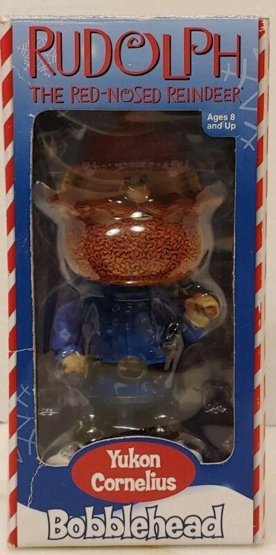 Toy Site Yukon Cornelius Bobble head From Rudolph Rednosed Reindeer Cartoon