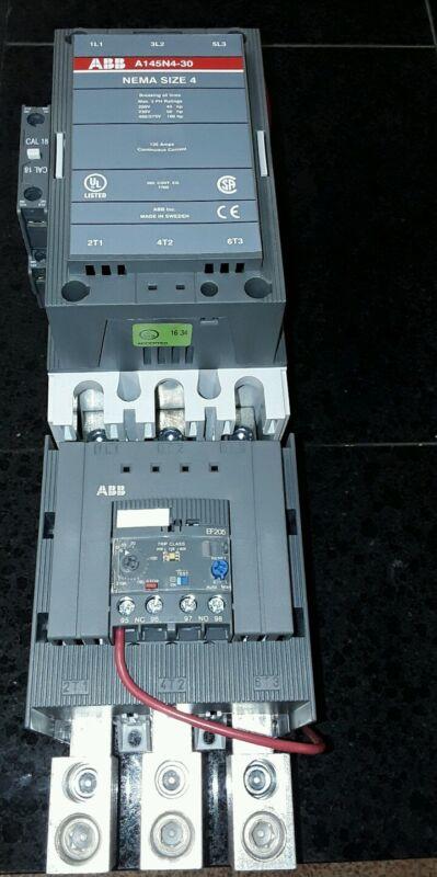 ABB P1-2E2 / B1-2E2 A145 MOTOR STARTER 3 PHASE SIZE 4 120 VOLT COIL