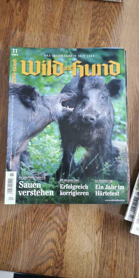 Wild und Hund 2013 Jagdmagazin in Wenze