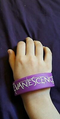 Evanescence rubber bracelet