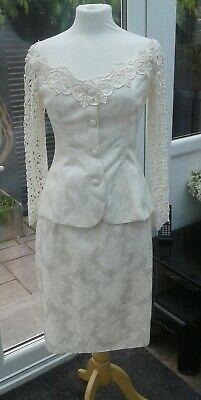 Stunning Jessica McClintock suit US8/ UK10