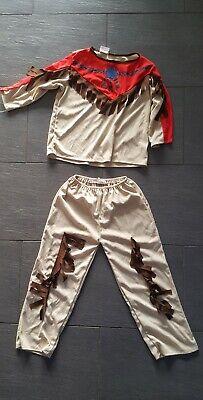 kleinkind faschingskostüm indianer Kostüm wie neu Größe S c.a. 3 bis 6 Jahre - Bis Kostüm Kleinkind