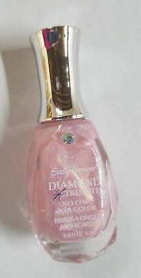New  Sally Hansen Diamond Strength No Chip Nail Color   260 Pulled Sugar Pink