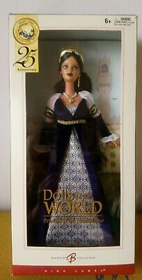 2004 Dolls Of The World ~ PRINCESS OF THE RENAISSANCE Barbie ~ Rare In UK ~ NRFB