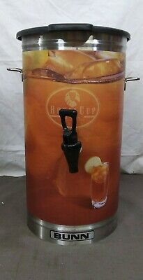 Bunn Stainless Steel Commercial Iced Tea Dispenser Urn Royal Cup