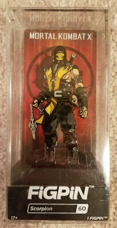 Scorpion FiGPiN Target Exclusive Mortal Kombat X #60 Rare