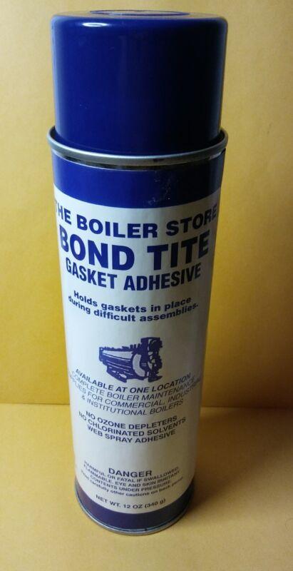 BOND TITE GASKET ADHESIVE WEB SPRAY 12 OZ CAN NEW BOILER STORE NO OZONE DEPLETER