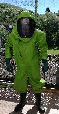 Chemikalienschutzanzug Auer Vautex SL Hazmat Suit Rubber Suit Latexanzug