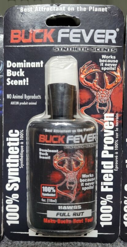 Buck Fever 100% Synthetic Scents 100% Field Tested Full rut