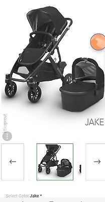 UPPAbaby 2018 VISTA Stroller Jake, BRAND NEW & NEVER OPENED!