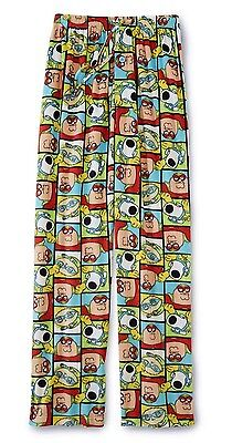 Mens Family Guy Pajamas Size Small Superhero Lounge/Sleep Pants Bottoms S NEW